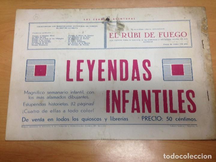 Tebeos: COMIC ORIGINAL TARZAN EDITADO POR HISPANO AMERICANA Nº15 ENTRE MONSTRUOS - Foto 2 - 94550911