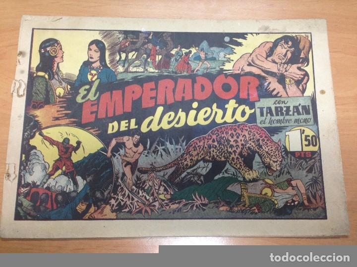 COMIC ORIGINAL TARZAN EDITADO POR HISPANO AMERICANA Nº 27 EL EMPERADOR DEL DESIERTO (Tebeos y Comics - Hispano Americana - Tarzán)
