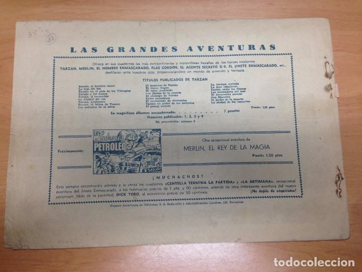 Tebeos: COMIC ORIGINAL TARZAN EDITADO POR HISPANO AMERICANA Nº 27 EL EMPERADOR DEL DESIERTO - Foto 2 - 94550987