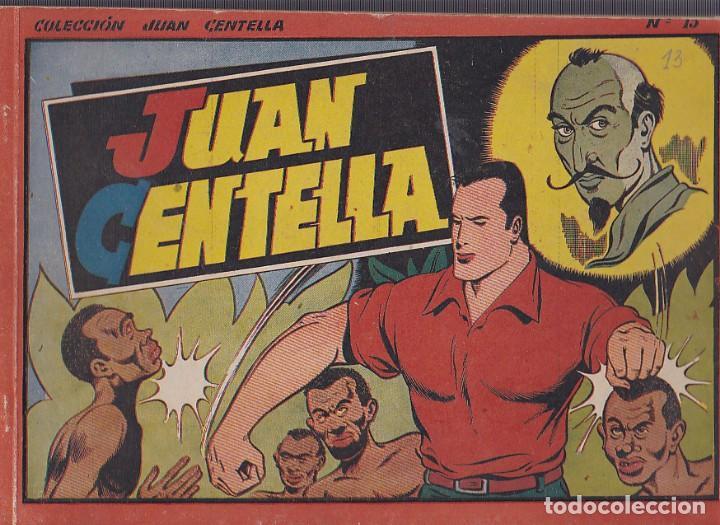 COMIC COLECCION JUAN CENTELLA ALBUM ROJO 21X32 Nº 13 (Tebeos y Comics - Hispano Americana - Juan Centella)