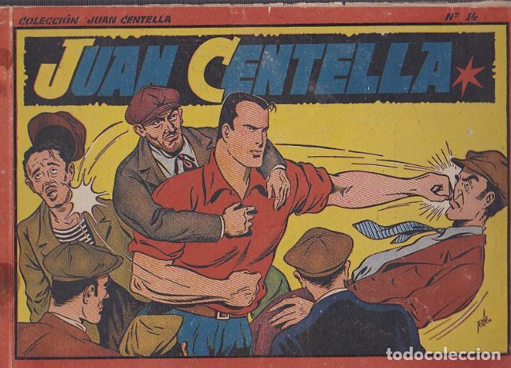 COMIC COLECCION JUAN CENTELLA ALBUM ROJO 21X32 Nº 14 (Tebeos y Comics - Hispano Americana - Juan Centella)