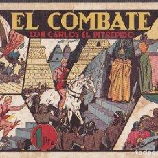 Tebeos: COMIC COLECCION CARLOS EL INTREPIDO EL COMBATE . Lote 94656543