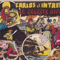 Tebeos: COMIC COLECCION CARLOS EL INTREPIDO EL CELESTE IMPERIO . Lote 94657107