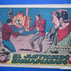 Tebeos: EL JUSTICIERO ENMASCARADO , N.4 , HISPANO AMERICANA. Lote 96311295