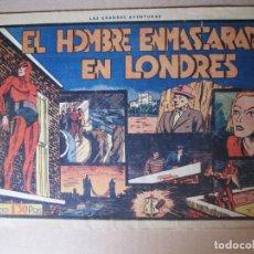 Tebeos: EL HOMBRE ENMASCARADO EN LONDRES , NUMERO 11 , HISPANO AMERICANA , 1941. Lote 96321703