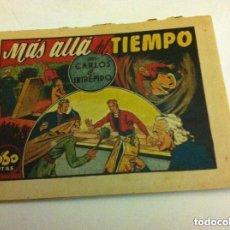Tebeos: CARLOS EL INTRÉPIDO - MÁS ALLÁ DEL TIEMPO -0,60 PTA (BIEN). Lote 96818551