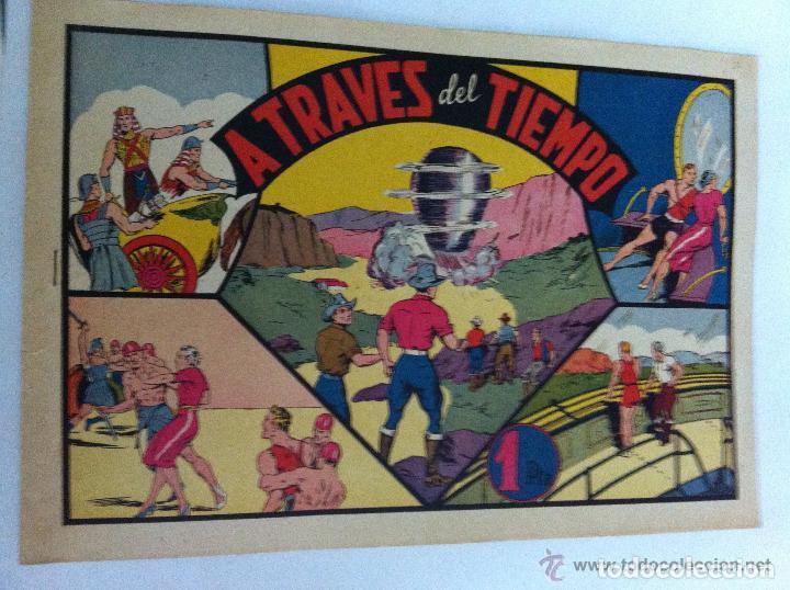 CARLOS EL INTREPIDO - A TRAVÉS DEL TIEMPO (Tebeos y Comics - Hispano Americana - Carlos el Intrépido)