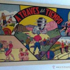 Tebeos: CARLOS EL INTREPIDO - A TRAVÉS DEL TIEMPO. Lote 96818735