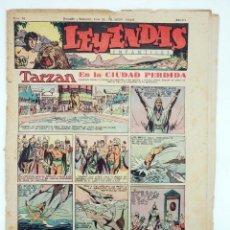 Tebeos: LEYENDAS INFANTILES. AÑO III N.º 96. SENDA / HISPANO AMERICANA, 1944. ORIGINAL. Lote 97066171