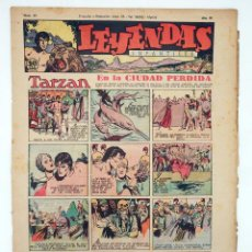 Tebeos: LEYENDAS INFANTILES. AÑO III N.º 97. SENDA / HISPANO AMERICANA, 1944. ORIGINAL. Lote 97066175