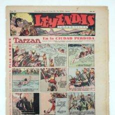 Tebeos: LEYENDAS INFANTILES. AÑO III N.º 99. SENDA / HISPANO AMERICANA, 1944. ORIGINAL. Lote 97066179