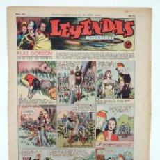 Tebeos: LEYENDAS INFANTILES. AÑO III N.º 103. SENDA / HISPANO AMERICANA, 1944. ORIGINAL. Lote 97066195