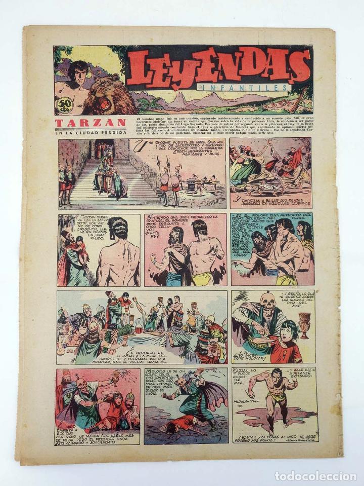 Tebeos: LEYENDAS INFANTILES. AÑO III N.º 103. Senda / Hispano Americana, 1944. Original - Foto 2 - 97066195