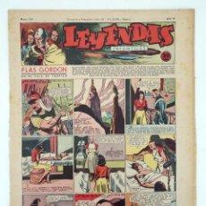 Tebeos: LEYENDAS INFANTILES. AÑO III N.º 104. SENDA / HISPANO AMERICANA, 1944. ORIGINAL. Lote 97066199