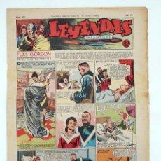 Tebeos: LEYENDAS INFANTILES. AÑO III N.º 105. SENDA / HISPANO AMERICANA, 1944. ORIGINAL. Lote 97066203