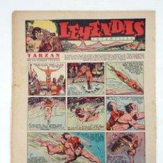 Tebeos: LEYENDAS INFANTILES. AÑO III N.º 109. SENDA / HISPANO AMERICANA, 1944. ORIGINAL. Lote 97066207