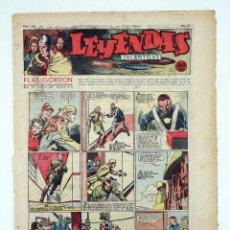 Tebeos: LEYENDAS INFANTILES. AÑO III N.º 110. SENDA / HISPANO AMERICANA, 1944. ORIGINAL. Lote 97066211