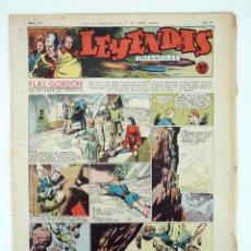 Tebeos: LEYENDAS INFANTILES. AÑO III N.º 111. SENDA / HISPANO AMERICANA, 1944. ORIGINAL. Lote 97066215