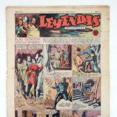 Tebeos: LEYENDAS INFANTILES. AÑO III N.º 113. SENDA / HISPANO AMERICANA, 1944. ORIGINAL. Lote 97066223