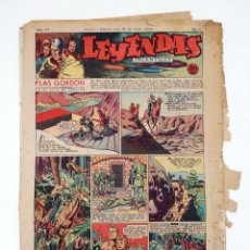 Tebeos: LEYENDAS INFANTILES. AÑO III N.º 114. SENDA / HISPANO AMERICANA, 1944. ORIGINAL. Lote 97066227