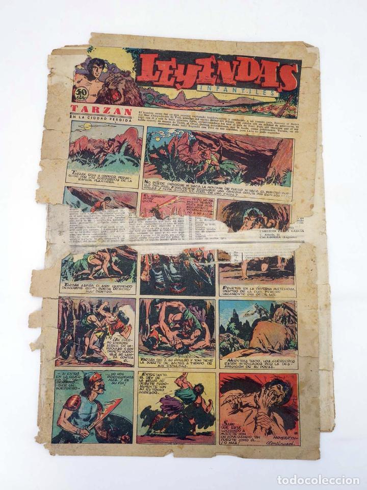 Tebeos: LEYENDAS INFANTILES. AÑO III N.º 114. Senda / Hispano Americana, 1944. Original - Foto 2 - 97066227