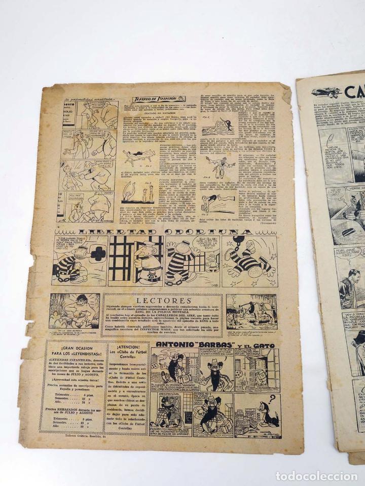 Tebeos: LEYENDAS INFANTILES. AÑO III N.º 114. Senda / Hispano Americana, 1944. Original - Foto 3 - 97066227