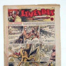 Tebeos: LEYENDAS INFANTILES. AÑO III N.º 116. SENDA / HISPANO AMERICANA, 1944. ORIGINAL. Lote 97066231