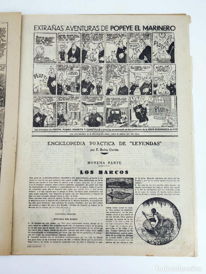 Tebeos: LEYENDAS INFANTILES. AÑO III N.º 116. Senda / Hispano Americana, 1944. Original - Foto 4 - 97066231