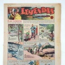 Tebeos: LEYENDAS INFANTILES. AÑO III N.º 127. SENDA / HISPANO AMERICANA, 1944. ORIGINAL. Lote 97066247