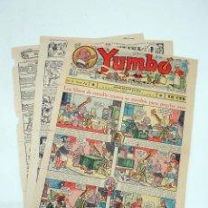 Tebeos: YUMBO EL ELEFANTE SABIO Y SU PANDILLA 72. FORMATO GRANDE HISPANO AMERICANA, 1946. ORIGINAL. Lote 97066251
