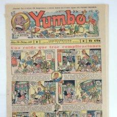 Tebeos: YUMBO EL ELEFANTE SABIO Y SU PANDILLA 119. FORMATO GRANDE HISPANO AMERICANA, 1946. ORIGINAL. Lote 97066255