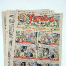 Tebeos: YUMBO EL ELEFANTE SABIO Y SU PANDILLA 126. FORMATO GRANDE HISPANO AMERICANA, 1946. ORIGINAL. Lote 97066259