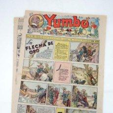 Tebeos: YUMBO EL ELEFANTE SABIO Y SU PANDILLA 133. FORMATO GRANDE HISPANO AMERICANA, 1946. ORIGINAL. Lote 97066263