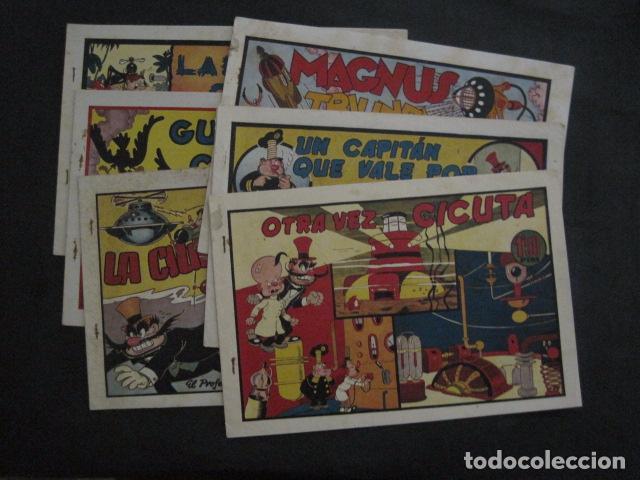 EL PROFESOR MAGNUS CONTRA DOCTOR CICUTA -COLECCION 6 COMICS - VER FOTOS - (V-11.870) (Tebeos y Comics - Hispano Americana - Otros)