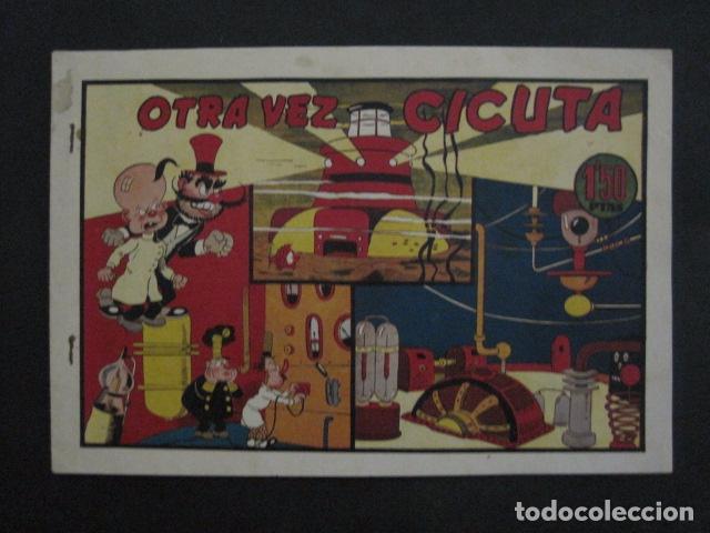 Tebeos: EL PROFESOR MAGNUS CONTRA DOCTOR CICUTA -COLECCION 6 COMICS - VER FOTOS - (V-11.870) - Foto 2 - 97077307