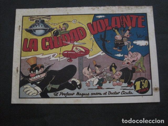 Tebeos: EL PROFESOR MAGNUS CONTRA DOCTOR CICUTA -COLECCION 6 COMICS - VER FOTOS - (V-11.870) - Foto 14 - 97077307