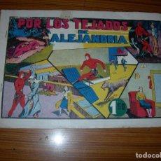 Tebeos: EL HOMBRE ENMASCARADO Nº POR LOS TEJADOS DE ALEJANDRIA EDITA HISPANO AMERICANA . Lote 97787583