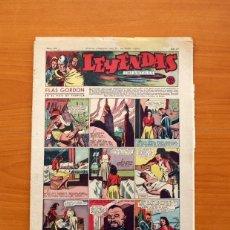 Tebeos: LEYENDAS INFANTILES, Nº 104 - EDITORIAL HISPANO AMERICANA 1944 - TAMAÑO 37X27. Lote 97853775