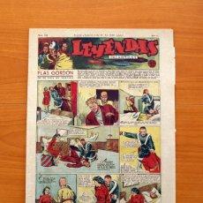 Tebeos: LEYENDAS INFANTILES, Nº 108 - EDITORIAL HISPANO AMERICANA 1944 - TAMAÑO 37X27. Lote 97853943