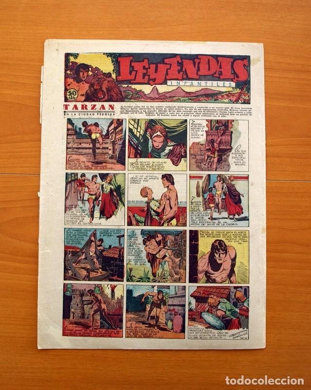 Tebeos: Leyendas Infantiles, nº 108 - Editorial Hispano Americana 1944 - Tamaño 37x27 - Foto 7 - 97853943