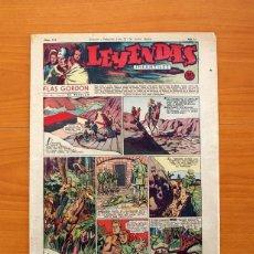 Tebeos: LEYENDAS INFANTILES, Nº 114 - EDITORIAL HISPANO AMERICANA 1944 - TAMAÑO 37X27. Lote 97854327