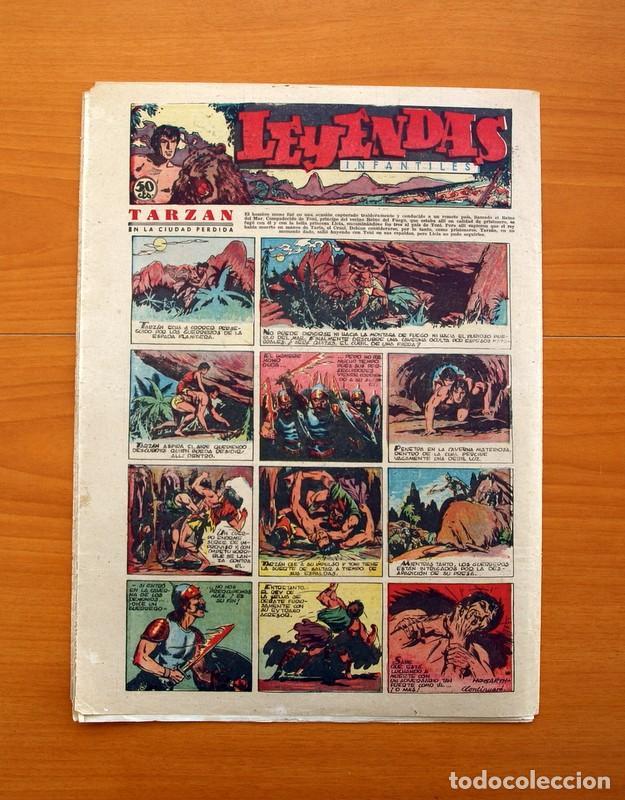 Tebeos: Leyendas Infantiles, nº 114 - Editorial Hispano Americana 1944 - Tamaño 37x27 - Foto 7 - 97854327
