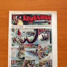Tebeos: LEYENDAS INFANTILES, Nº 115 - EDITORIAL HISPANO AMERICANA 1944 - TAMAÑO 37X27. Lote 97854527
