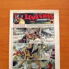 Tebeos: LEYENDAS INFANTILES, Nº 116 - EDITORIAL HISPANO AMERICANA 1944 - TAMAÑO 37X27. Lote 97854607