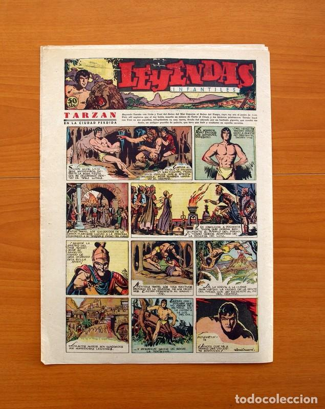 Tebeos: Leyendas Infantiles, nº 116 - Editorial Hispano Americana 1944 - Tamaño 37x27 - Foto 7 - 97854607