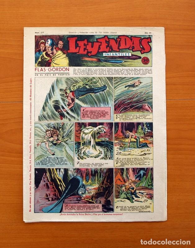 LEYENDAS INFANTILES, Nº 117 - EDITORIAL HISPANO AMERICANA 1944 - TAMAÑO 37X27 (Tebeos y Comics - Hispano Americana - Leyendas Infantiles)