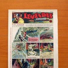 Tebeos: LEYENDAS INFANTILES, Nº 117 - EDITORIAL HISPANO AMERICANA 1944 - TAMAÑO 37X27. Lote 97854843