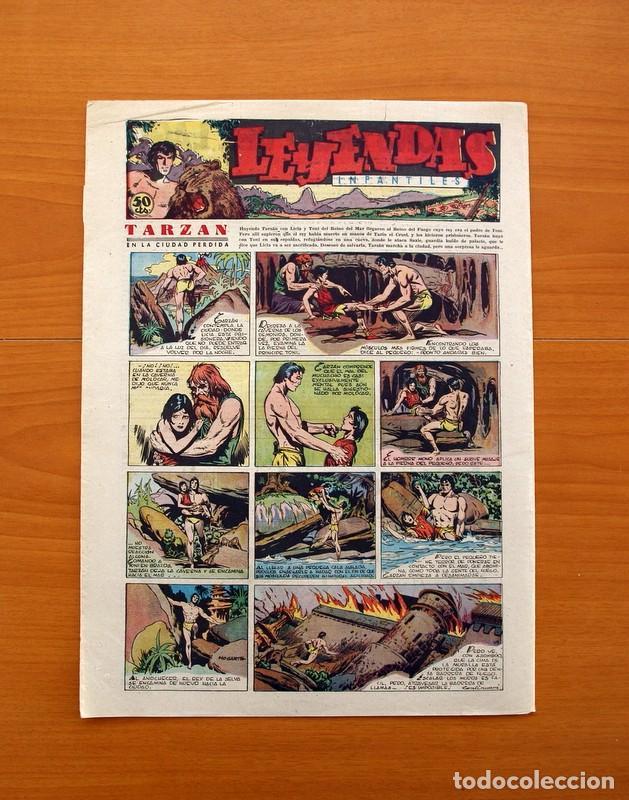 Tebeos: Leyendas Infantiles, nº 117 - Editorial Hispano Americana 1944 - Tamaño 37x27 - Foto 7 - 97854843