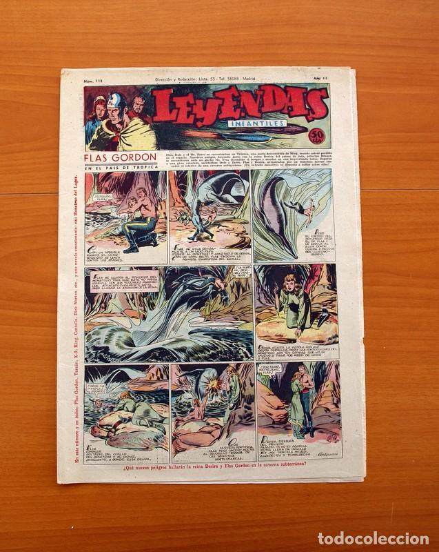 LEYENDAS INFANTILES, Nº 118 - EDITORIAL HISPANO AMERICANA 1944 - TAMAÑO 37X27 (Tebeos y Comics - Hispano Americana - Leyendas Infantiles)