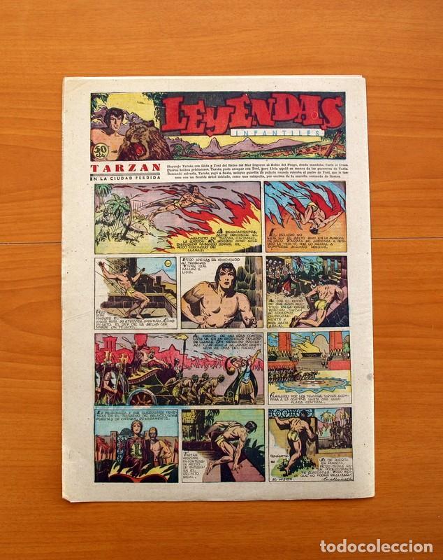 Tebeos: Leyendas Infantiles, nº 120 - Editorial Hispano Americana 1944 - Tamaño 37x27 - Foto 7 - 97855171